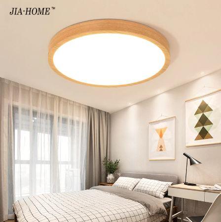 עדכני מנורת לד צמודת תקרה - דגם עץ • Light • Stylink RF-08